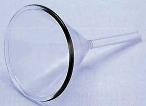Borosilicate Glass Funnel - 54mm (50mm Stem)