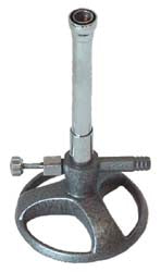13mm Bunsen Burner w/ Valve - Natural Gas