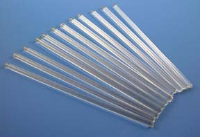 Glass Stirring Rods - 5mm x 8""