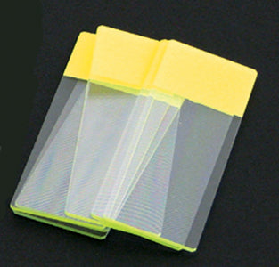Color Coded Microscope Slides - Yellow