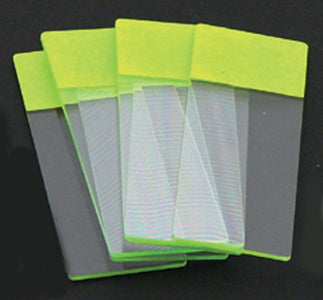 Color Coded Microscope Slides - Green