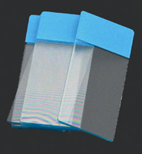 Color Coded Microscope Slides - Blue