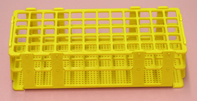 Stackable Test Tube Rack - Yellow