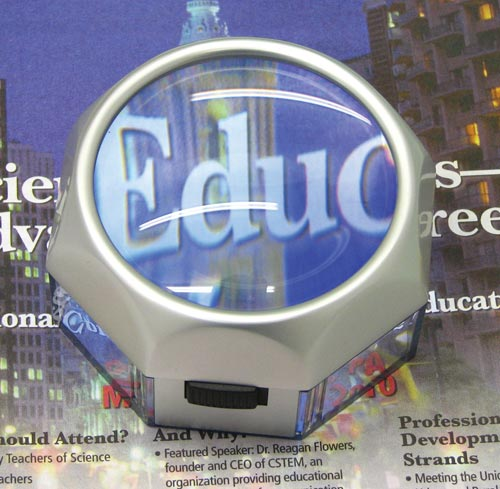 Magnifier 5x Illuminated LED