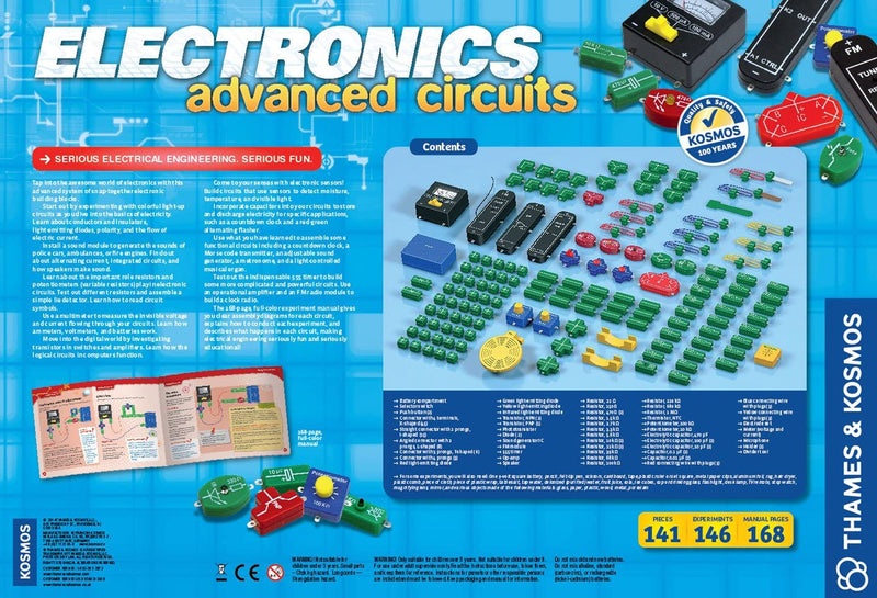Thames and Kosmos Electronics Advanced Circuits