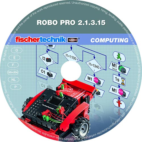 ROBO Pro Software for Windows (Single License)