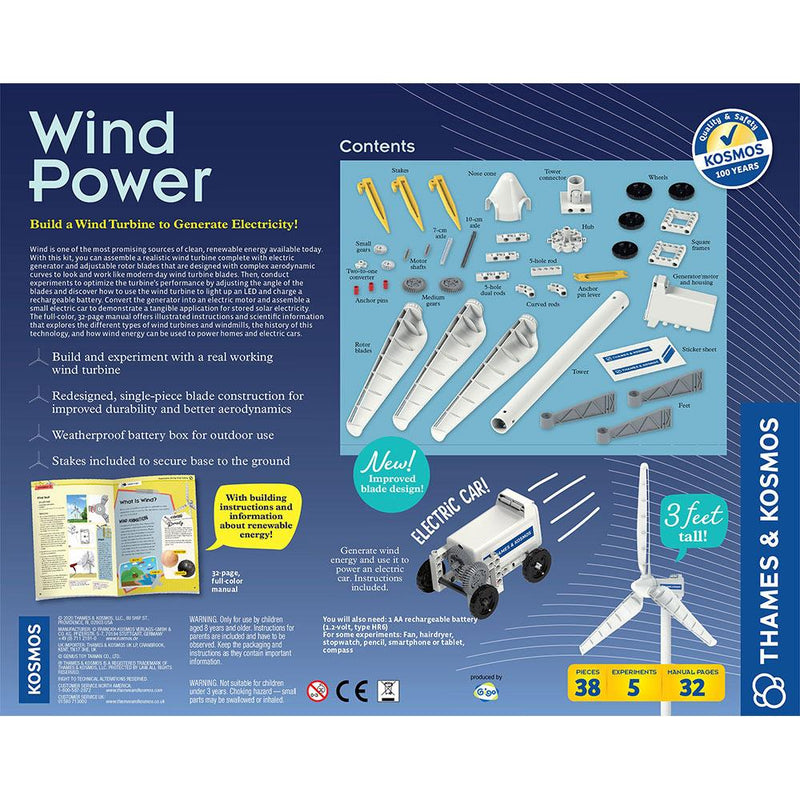 Thames and Kosmos Wind Power 4.0