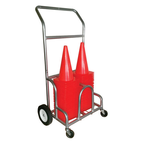 Double EZ-Roll Poly Cone Cart