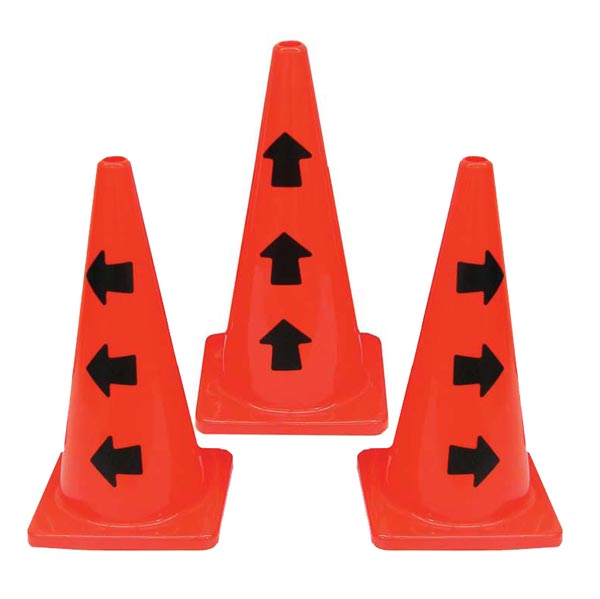 "28"" Directional Arrow Cone"