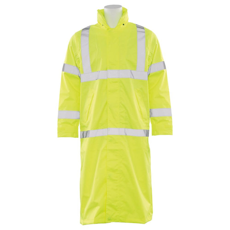 Full Length ANSI Class 3 Raincoat