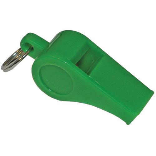 Colored Crossing Guard Whistle