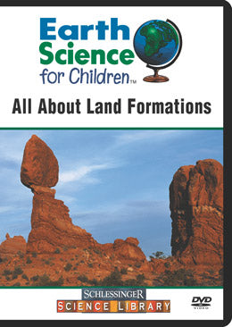 All About Land Formations (DVD)