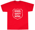 Red Safety Patrol T-shirt