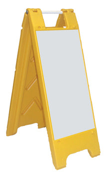 Fold-Up Sign - Dry Erase