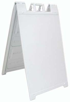Signicade® Fold-Up Message Board - White