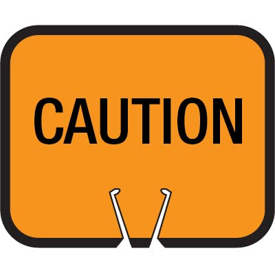 Snap-On Cone Sign - CAUTION