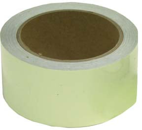 "Yellow Glow-In-The-Dark Tape 2"" x 10 Yards"
