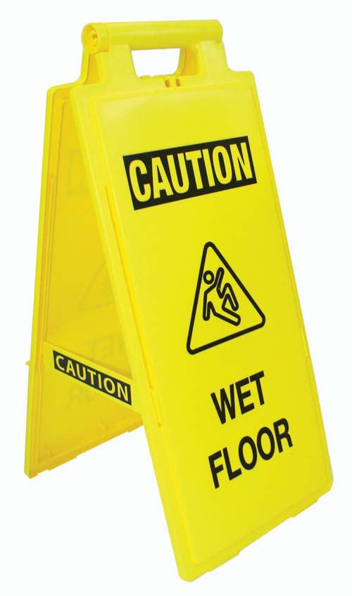 Fold-Up Sign - Caution, Wet Floor