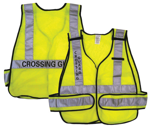 Lime Crossing Guard Vest