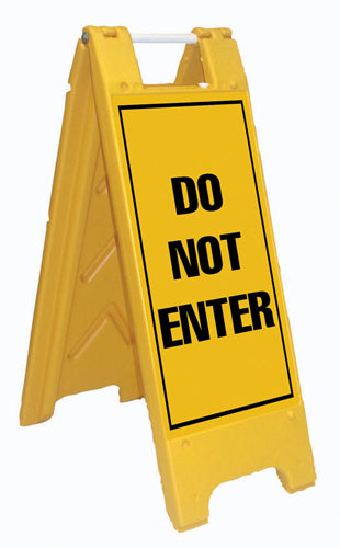 Minicade Fold-Up Sign - Do Not Enter
