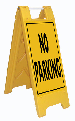 Minicade Fold-Up Sign - No Parking