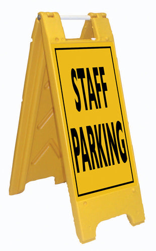 Minicade Fold-Up Sign - Staff Parking