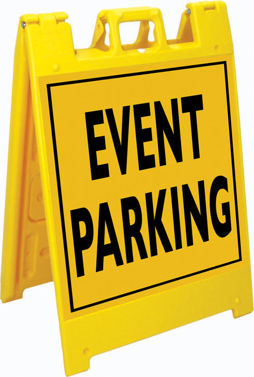 Squarecade™ 36 Fold-Up Sign - Event Parking