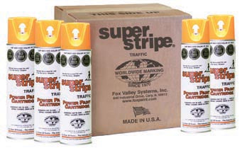 Super Stripe Traffic Paint - Red