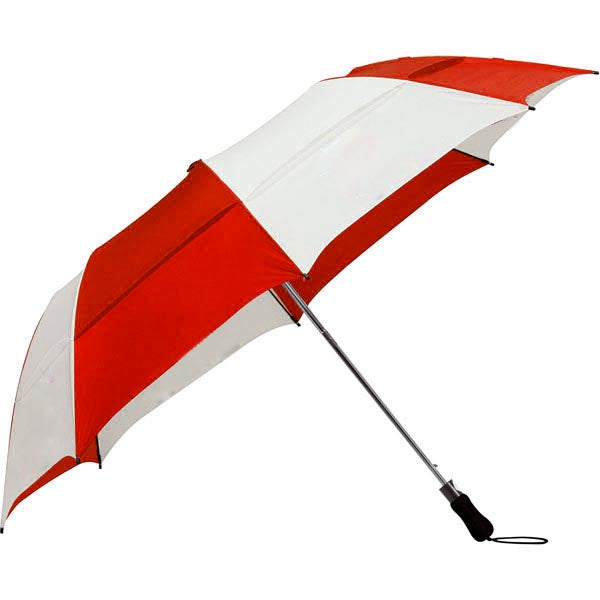 "58"" Folding Vented Umbrella w/ Crossing Guard Emblem"