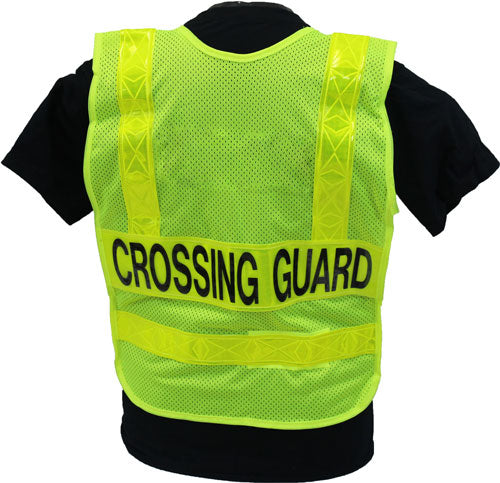 Lime Crossing Guard Vest - Standard