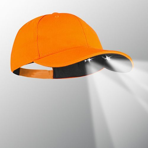 Powercap Stealth LED Lighted Cap - Orange