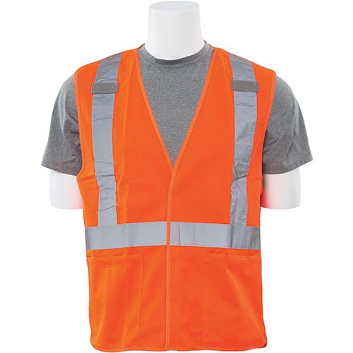 X-Back Break-Away Vest (Class 2) (Orange)