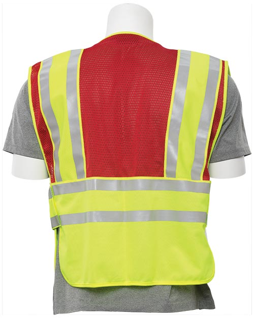 5-Point Breakaway Public Safety Vest (Class 2)(Red) 2X/5X