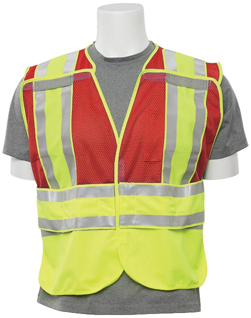 5-Point Break-Away Public Safety Vest (Class 2)(Red) 2X/5X