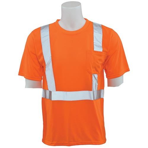 Hi-Viz Reflective Class 2 T-Shirt (Orange)