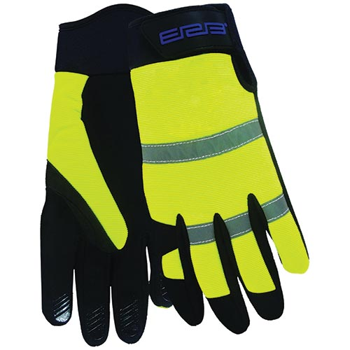 High Visibility Work Gloves (Lime)