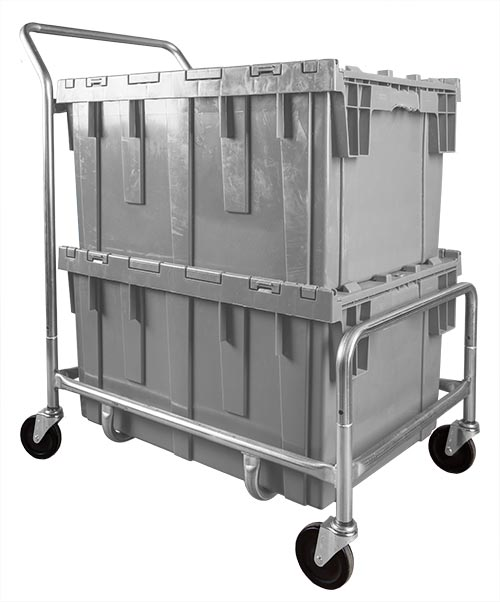 Single Level Container Cart - Small
