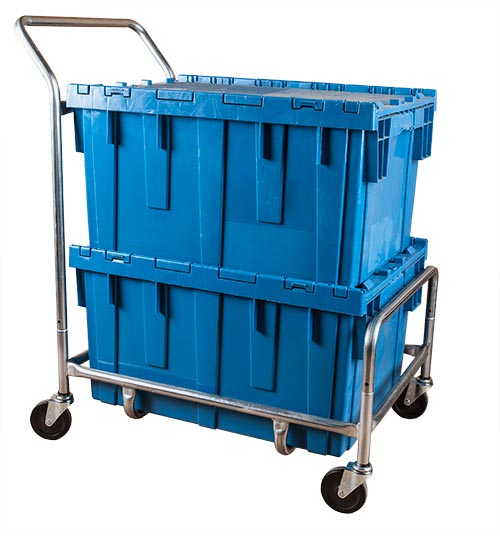 Single Level Container Cart - Large