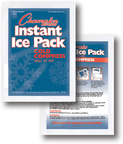 Instant Cold Compresses - Case of 16