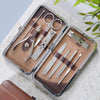 Personalised Manicure Kit - brown