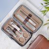 Personalised Manicure Kit - Brown, mini