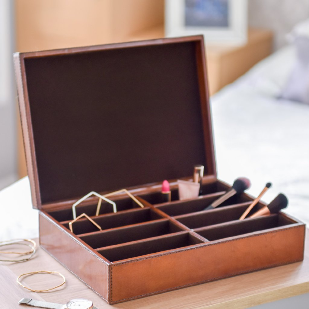 Ladies Leather Storage Box
