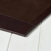Leather Desk Blotter - Brown
