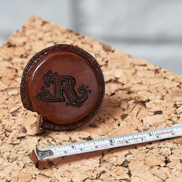 Leather Tape Measure - Tan