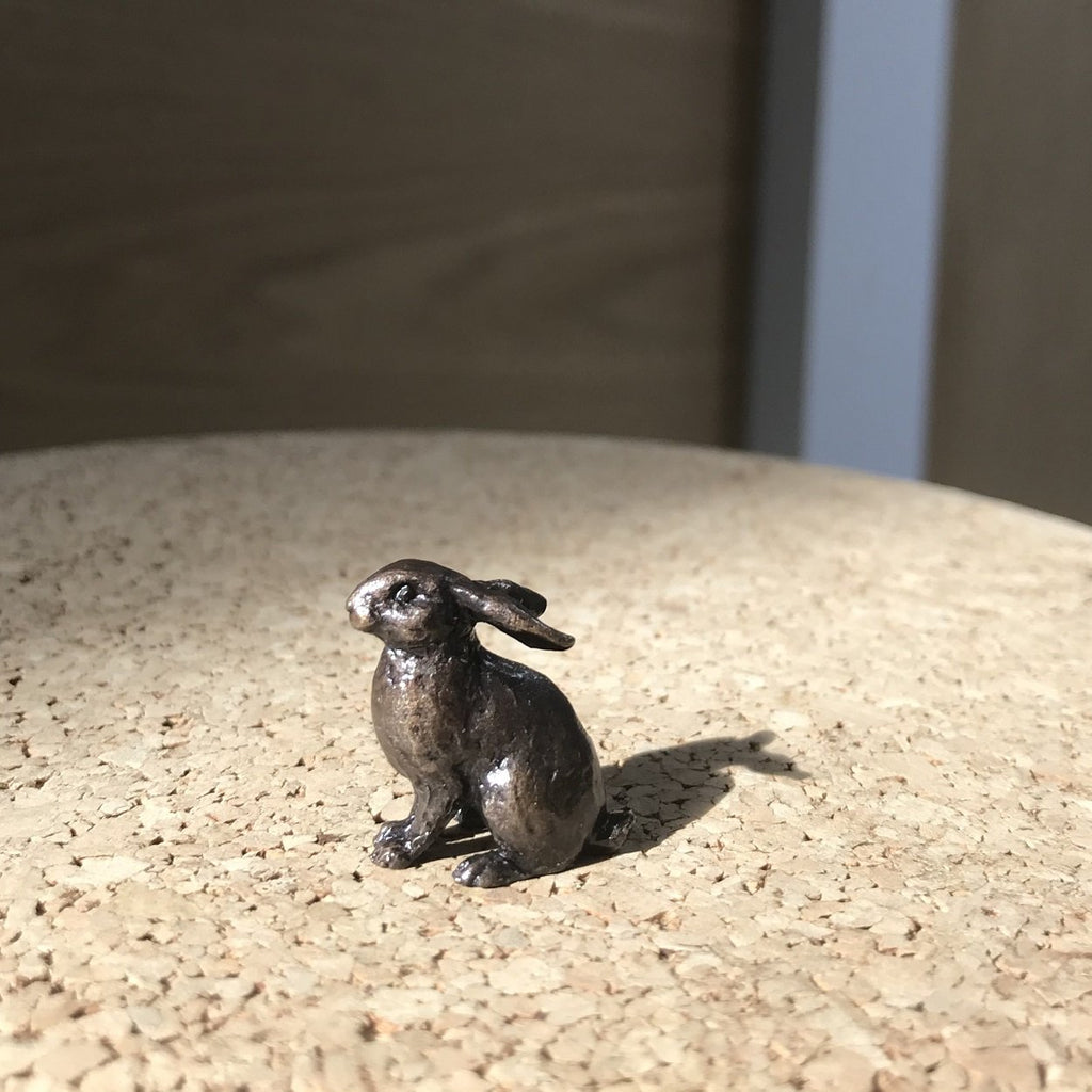 Miniature Bronze Sculpture - Rabbit