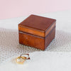 Ladies Leather Ring Box Square