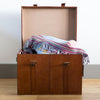 Leather Storage Trunks - 3 sizes