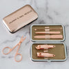Personalised Manicure Set - rose gold, mini