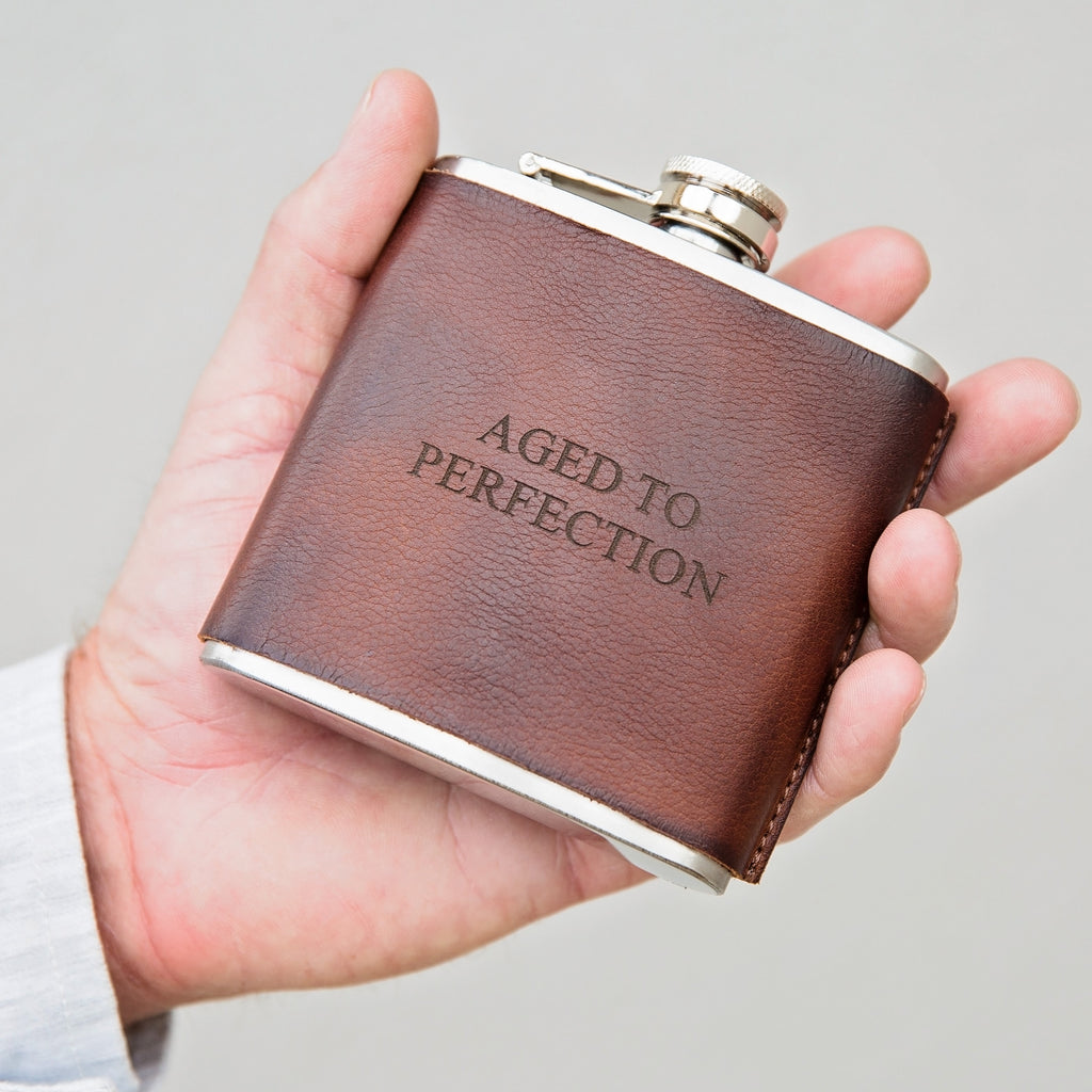 Leather Hip Flask