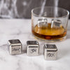 'Dad' Stainless Steel Ice Cubes Gift Set